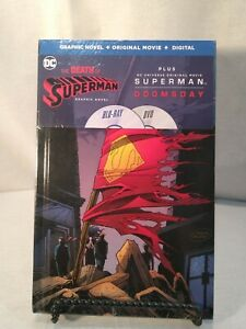 The Death of Superman - Graphic Novel, Dvd and Blu Ray, NEW