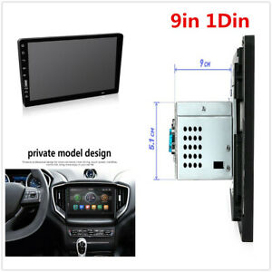 Wince 9in 1Din Car Stereo Radio MP5 Player FM Bluetooth USB/TF HD Touch Screen
