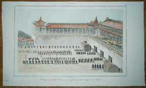 1837 print EMPEROR QIANLONG OF QING DYNASTY, CHINA (#69)