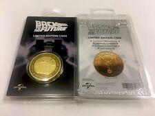 BACK TO THE FUTURE GOLD COLLECTORS EDITION COIN SOLD OUT LIMITED TO 1000