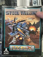 Steel Talons (Lynx, 1992) This game is New & Sealed! Ships Fast!