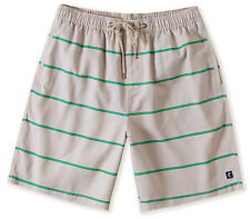 O'Neill CEDAR KEY Mens 100% Polyester Boardshorts Medium Stone Teal Stripe NEW