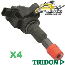TRIDON IGNITION COIL x4 FOR Honda  Jazz GD (Japan) 10/02-08/08, 4, 1.5L L15A1