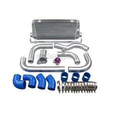 CX Alum Intercooler Kit BOV Intake Pipe Filter For 86-91 Mazda RX7 RX-7 FC FC3S