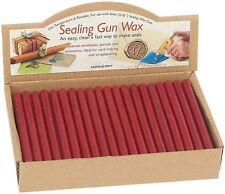 5 RED 8MM SEALING WAX SEAL STICKS FOR LOW TEMPERATURE MELTING GUN MANUSCRIPT