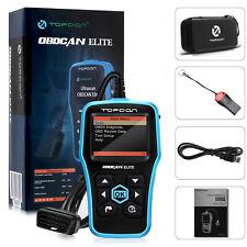 ABS Airbag SRS Diagnostic Tool Code Reader OBD2 Scanner Live Freeze Frame Data