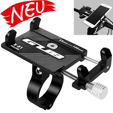 Handyhalterung Fahrrad Alu 360 GUB für Fahrrad oder Motorrad Aluminium schwarz