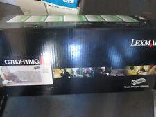Genuine Lexmark C780H1MG HIGH YIELD MAGENTA Toner Cartridge C780 C782 X782
