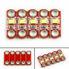4Set SMD 3V-5V White LED Module DIY Active Components Diodes For Lilypad