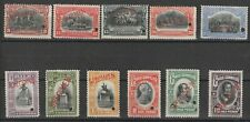 Chile 1910 Mi # 81 + 84/93 with SPECIMEN and Punchole vf MNH