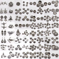 Tibetan Silver Charm Loose Spacer Beads For Jewelry Making Finding DIY Wholesale