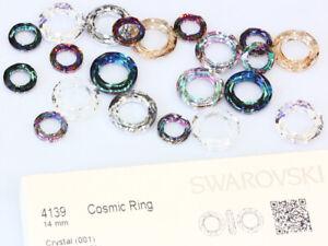 Original SWAROVSKI 4139 Cosmic Ring Strass Steine * versch. Größen & Farben