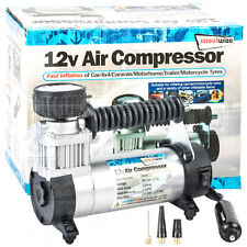 12V Car Hi Speed 100PSI Compact Air Compressor Pump Bike 4x4 Fast Tyre Inflator