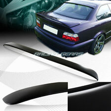 UNPAINT BLACK ABS PLASTIC REAR WINDOW VISOR SPOILER WING FIT 92-98 BMW E36 2-DR