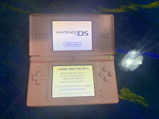 Nintendo DS Lite Coral Pink With Charger & Carrying Case. Tested, Working Great!