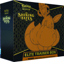 Pokemon Shining Fates Elite Trainer Box Eevee VMax PRE-ORDER 2/19 All Guaranteed