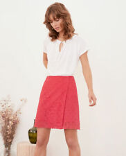 Jupe Comptoir des Cotonniers 34 Rose Guipure Broderie Anglaise
