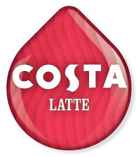 8 x Tassimo Costa Latte T Discs Pods - 8 T Discs Sold Loose 4 Large Drinks