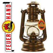 FEUERHAND® hurricane lantern 276 bronze, galvanized, Made in Germany
