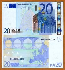 European Union, Portugal, 20 Euro, P-10m, 2002, UNC