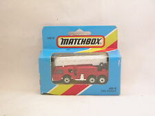 Matchbox Superfast MB18 Camion de Pompiers - Fire Engine  neuf/boite (#A25)