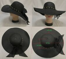 Summer Beach Hat For Women Foldable Wide Large Brim Floppy Sun Straw Hat Cap