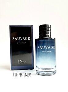 Christian Dior Sauvage EDP Eau De Parfum 3.4 Fl. Oz / 100 ml Men New Box