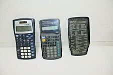 Ti-30X Iis Calculator & Ti-36X Solar Scientific Calculator Bundle of 2 See Notes