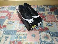 Scarpe sneakers casual sportive trendy uomo YOUR TURN, taglia 41, nere eco pelle