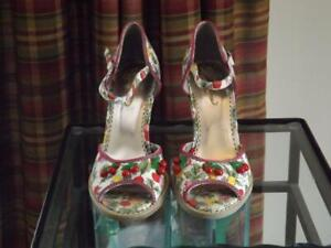 Poetic Licence Sweet Shirley Temple Shoes Sandals Size 7 1/2