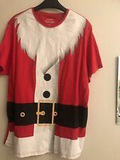 Santa T Shirt  Medium