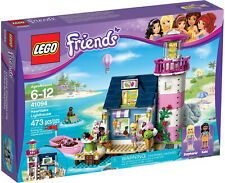 LEGO FRIENDS HEARTLAKE LIGHTHOUSE 41094 + CAMPING TENT SET 850967 SEALED RETIRED