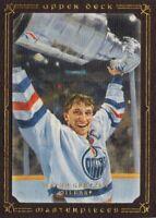 Upper Deck Masterpieces 2008/09: Brown Parallel Card of Wayne Gretzky # 38