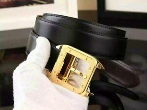 Cartier belt buckle gold (reversible) black/brown large