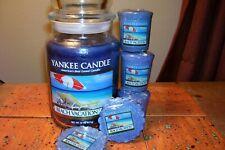 yankee candle 22oz JAR BEACH VACATION + 2 TARTS + 3 VOTIVES