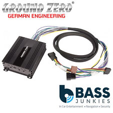 Ground Zero GZCS 4.60ISO High Efficient 360 Watts Plug & Play Car Amp Amplifier