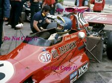 Ronnie Peterson STP March 721G German Grand Prix 1972 Photograph 8