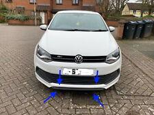 VW POLO R LINE FRONT ORIGINAL GENUINE BUMPER LIP SPOILER 2011- 2017 6R 6C