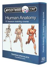 Humanos fundamentales Anatomía Cuerpo Manual formación médica Libro Curso