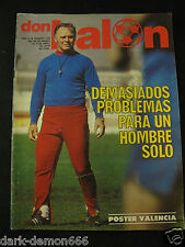 DON BALON 129 SELECCION ESPAÑA-BARCELONA-REAL MADRID-SPORTING GIJON ETC