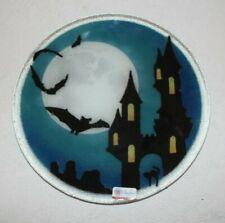 "Peggy Karr Halloween Haunted House Bats Transylvania 11"""