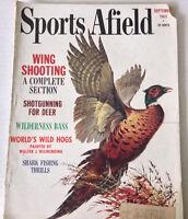 Sports Afield Magazine Wing Shooting Shotgunning Deer September 1963 080517nonrh