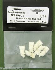 Warriors WA35601: German Head Set #65 Air Defense Helmet (6 Heads)