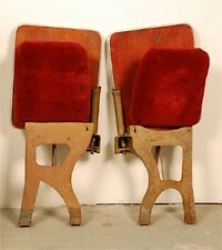 18 stück Klappsitze Kino Theatre Antik Sitze Industriell Sessel Stühle