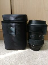 Sigma 24-35mm f/2 DG HSM Art Nikon F mount free shipping!!