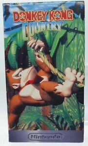 DONKEY KONG COUNTRY  NINTENDO  1994  VHS PAL
