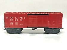 MARX MARLINES 249319 OPERATING BOXCAR