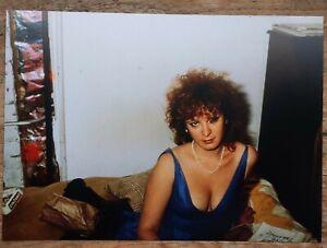 Nan Goldin - Self Portrait in Blue Dress, NY 1985 - SIGNED RARE