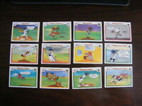 Upper Deck Looney Tunes Major League Baseball Comic Ball Cards 1990 Lot 12
