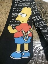 BART SIMPSON EXCLUSIVE DESIGNER SUIT NECKTIE TIE FREE SHIPPING